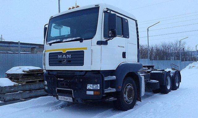 Седельный тягач MAN TGS 480