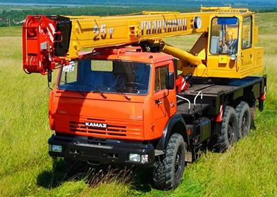 Автомобильный кран 25 т КС-55713-5 «Галичанин»